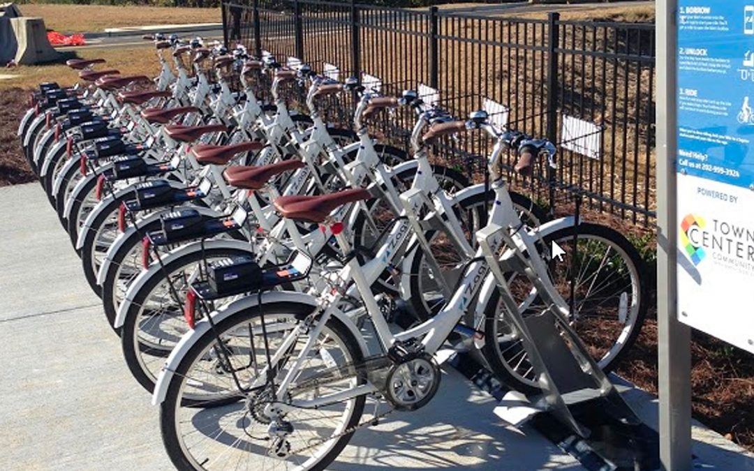 TCCID Bike Share Celebrates First Anniversary with Tech Upgrades