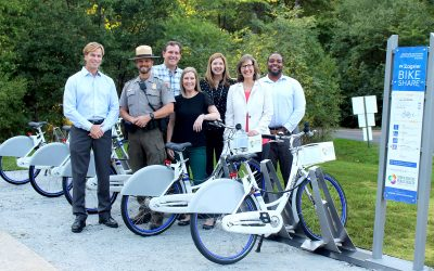 Kennesaw Mountain National Battlefield Park Bike Share Station Installed