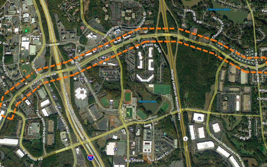 Chastain Road Corridor LCI Study RFP Released