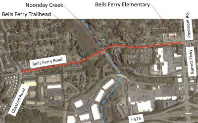 Town Center CID Awarded LCI Funding for Bells Ferry Operational Study